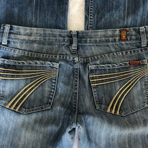 7 for all mankind jeans 32 x 30 Stretch